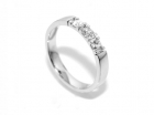 Superdeal! Alliansering med diamanter 0.09 carat w.si (585)