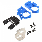 RPM 73615 Hybrid Gearbox Housing/Rear Mounts Blue