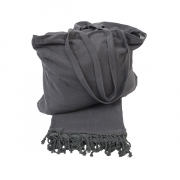 Beach Bag Terry Anthracite