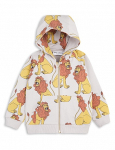 Bilde av Mini rodini, lion zip hood