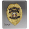 Weapon Permit Badge Gold